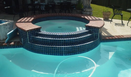 Pool Tile Coping Repair -