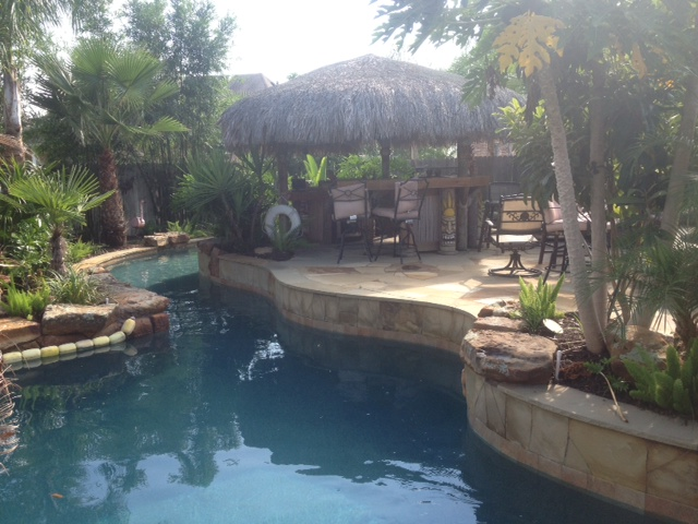 Backyard Lazy River Pool : Lazy River Pool System in your backyard? ?check! We can do that